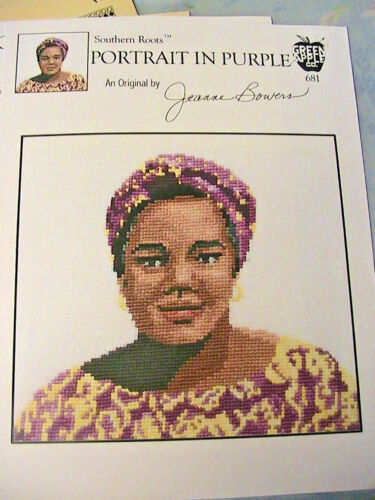 704~2003~J BOWERS RARE /& OOP~cross stitch graphs SOUTHERN ROOTS~PEARL No