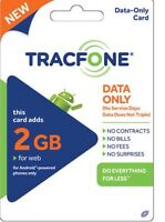 Tracfone - Android Data Plan Paper 4gb Data Christmas Present Fun