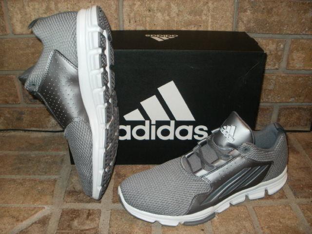 New Adidas Gameday CQ1058/ TR Training/ Turf Shoe CQ1058/ Gameday Football Gray-White $75 048aa3