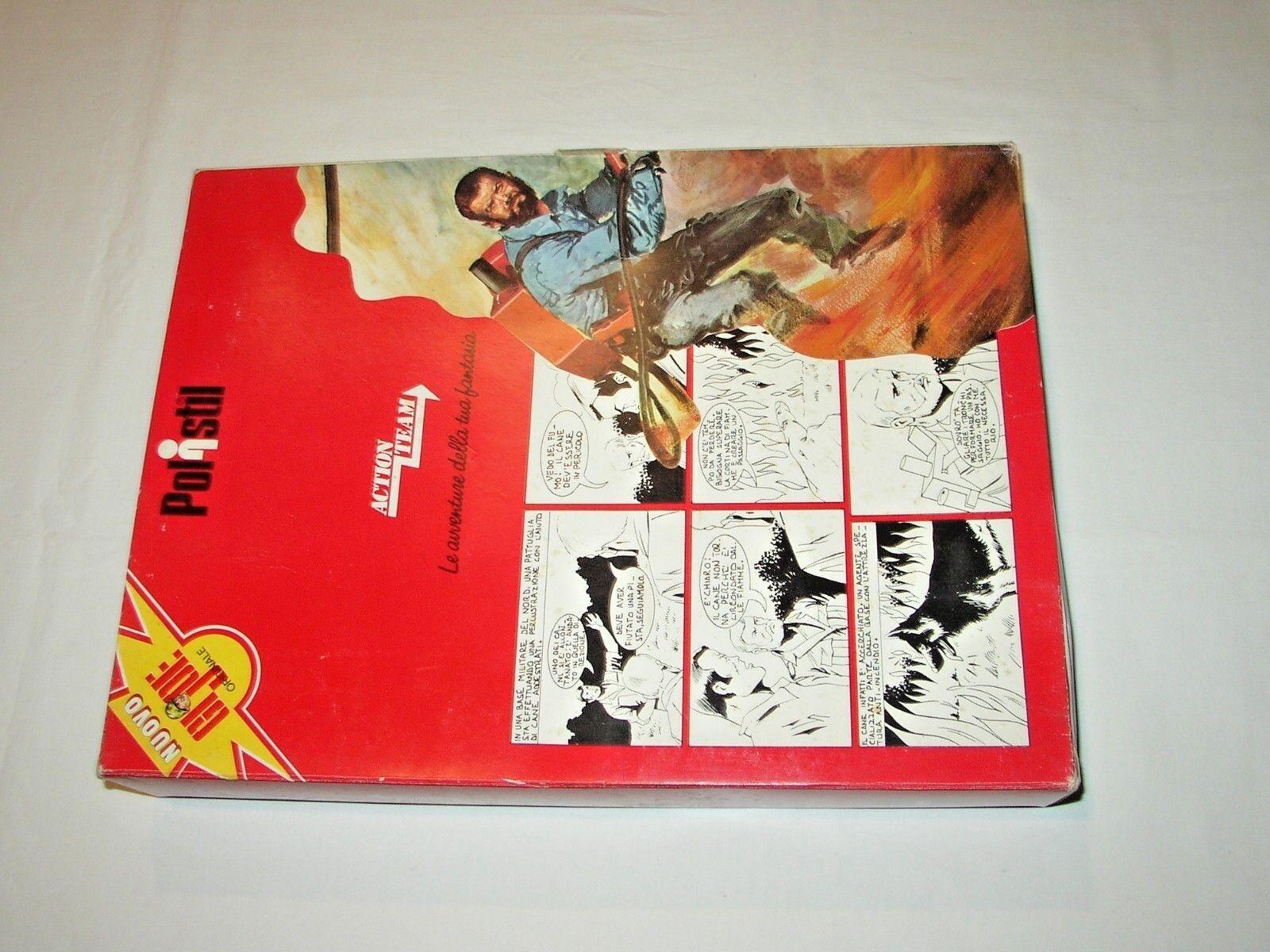 GI JOE Acción TEAM_1975_HASBRO POLISTIL_SEALED SET   34 VELA DEL DESERTO MIB
