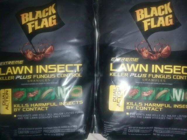 Black Flag 10 Lb Extreme Lawn Insect Killer Fungus Control Granules Other Weed For Sale Online Ebay