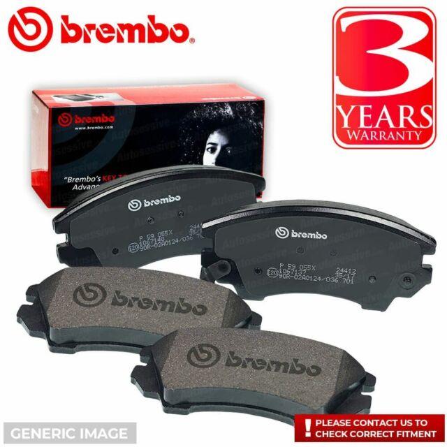 Brembo P06054 Front Disc Brake Pad Set of 4