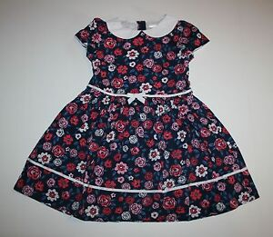 New-Gymboree-Floral-Poplin-Peter-Pan-Collar-Dress-NWT-2T-3T-4T-5T-Best-in-Show