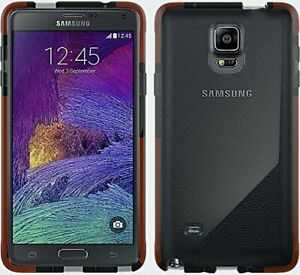 Tech21-Samsung-Galaxy-Note-4-Classic-Mesh-D30-ShockProof-Case-Cover-Clear