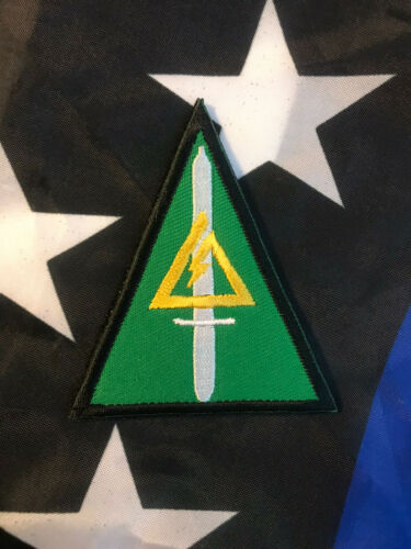 Delta Force CAG ACE US Army Special Force Embroider GREEN Patch Hk//Lp SOCOM