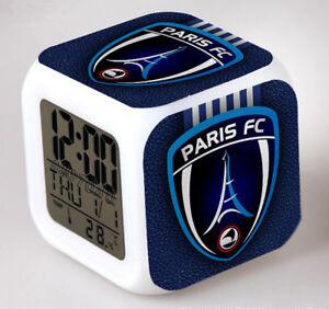 Reveil-numerique-Digital-Paris-fc-Cube-a-effet-lumineux-alarme-football
