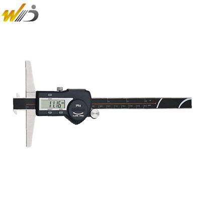 "Double Hook 6/""//150mm Electronic Depth Gage Caliper"