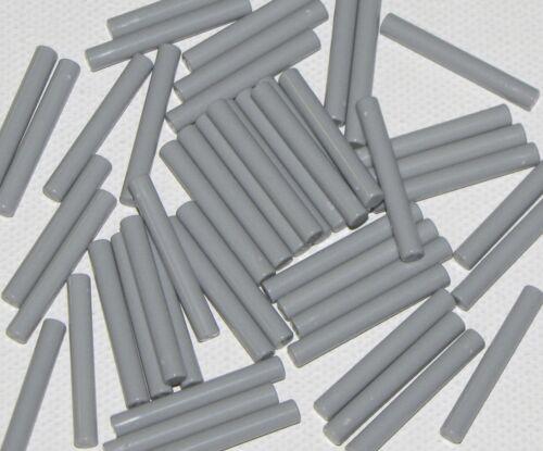 Lego Lot of 50 New Light Bluish Gray Bars 3L Bar Arrows Parts