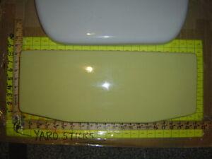 American Standard F 4043 Toilet Tank Lid Top F4043 Saffron