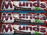Peter Paul Mounds Dark Chocolate Coconut Filled 1.75 Oz (49g) Bars