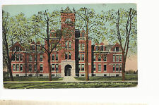 Lindley Hall  Earlham College  Richmond IN   Mailed 1912   Postcard 823