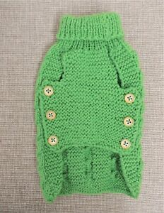 Gorgeous-Hand-Knitted-Dog-Jumper-Ex-Small-Fit-Chihuahua-Size-Thames-Hospice