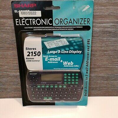 Sharp Electronic Organizer EL-6710SB New.Organiser Retro Vintage Hipster  eBay