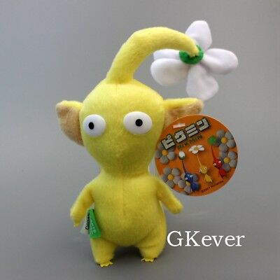 "NEW PIKMIN 6 1//2/"" Yellow flower STUFFED PLUSH DOLL Animal sale"