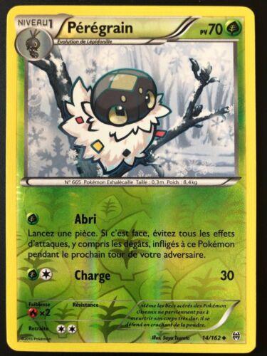Carte Pokemon PEREGRAIN 14//162 Reverse XY8 Impulsion TURBO FR NEUF