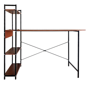 Computer-Study-Office-Laptop-Desk-with-Storage-Shelf-Wood-and-Industrial-Metal