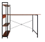 Computer-Study-Office-Laptop-Desk-with-Storage-Shelf-Wood-and-Industrial-Metal thumbnail 1