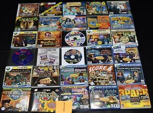 estate collection vintage PC CD-ROM computer video games, NICE lot 1 of 5 boxes