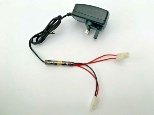 Microcat / Technicat Bait Boat Battery Fast Charger + Charging Lead