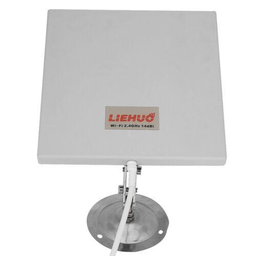 14dbi 2.4Ghz Long Range Wireless Antenna Panel WiFi Wlan Extender Directional