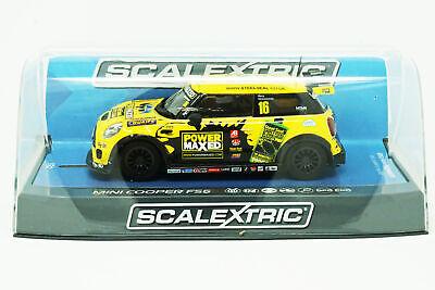 MINI Challenge 2015 SCALEXTRIC Slot Car C3742 BMW MINI Cooper F56