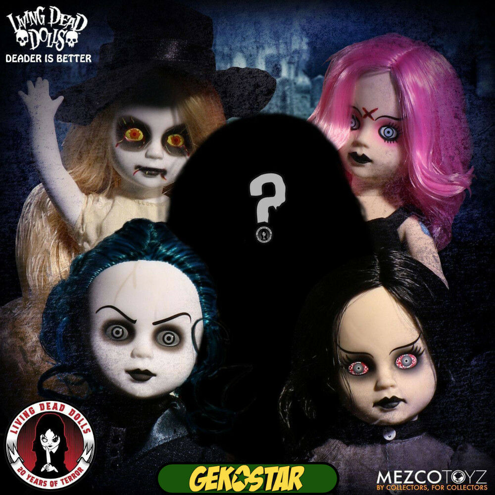 Living Dead Dolls 20th Anniversary Series 35 Set of 5