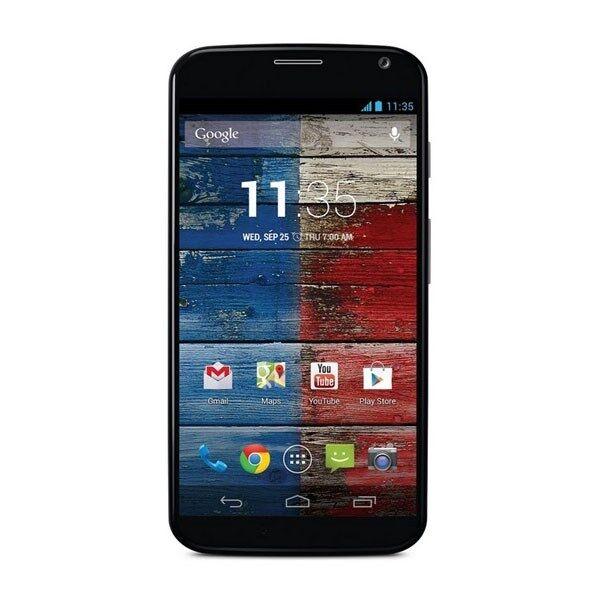 Motorola XT1060 Moto X Verizon Wireless 16GB Android Black and White Smartphone