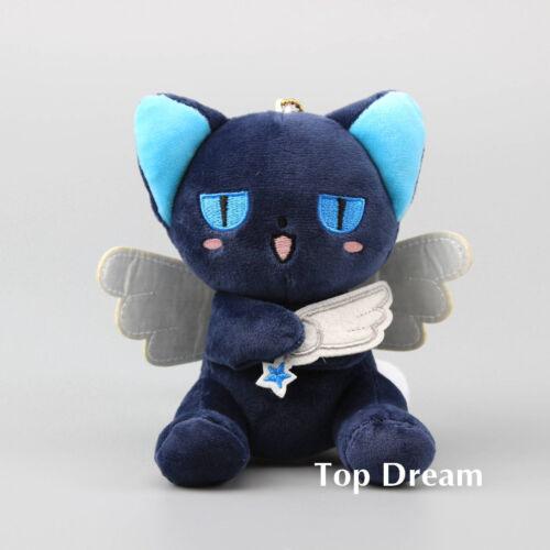 Anime Card Captor Sakura Spinel Sun Blue Plush Keychain Doll Toy 5/'/' Key Rings
