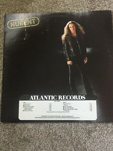 Ted-Nugent-034-Nugent-034-1982-PROMO-LP-Atlantic-SD-19365-Vinyl-Record-Good-Condition