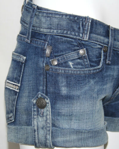 Mode Lowrise Mayhem Dames Shorts Republic New Blue Maat 24 Rock Simon x8wYOgw