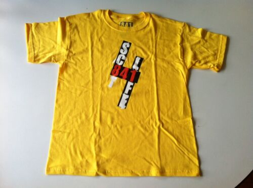 841 Scooter Tee Shirt SC84LIFE, YELLOW, YOUTH LARGE