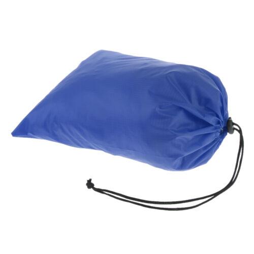 Nylon Waterproof Drawstring Bag Travel Wash Pouch Shoes Clothes Storage Bag