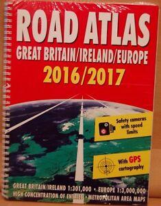 Road Atlas 20162017 Great Britain Ireland And Europe - Ayr, United Kingdom - Road Atlas 20162017 Great Britain Ireland And Europe - Ayr, United Kingdom