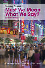 Must We Mean What We Say?: A Book of Essays by Stanley Cavell (Hardback, 2015)