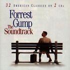 Forrest Gump Soundtrack CD 32 Track 2 Disc Set Featuring Tracks by Elvis Rpesley