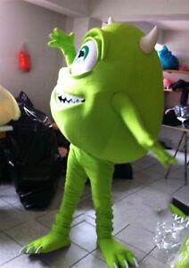 Mike Wazowski Mascot Parade Costume From Monsters University Fancy Dress Cosplay Ebay