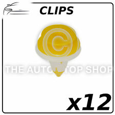 Clips - Mat To Fit Nissan Range: 100 NX - Pulsar Part Number: 11775 Pack of 12