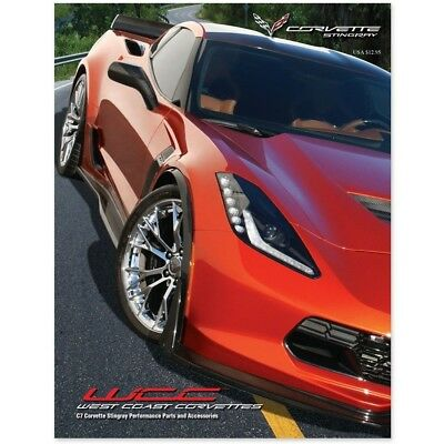 West Coast Corvette >> West Coast Corvette Corvette Parts And Accessories Catalog C7 Corvette Ebay