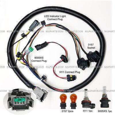 Wire Harness For Headlight High & Low Beam & Marker Light Fit: Peterbilt  388 389   eBay