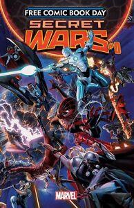 Secret-Wars-FCBD-Jonathon-Hickman-Paul-Renaud-Marvel-1st-Print-UNSTAMPED-NM