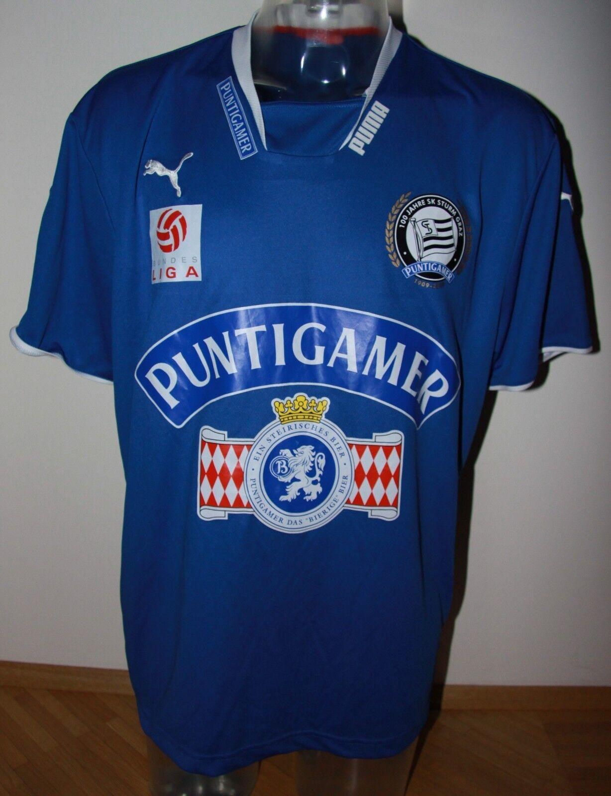 SK Sturm Sturm Sturm Graz Trikot Martin Kobras Bundesliga Saison 2008-2009 8b4371