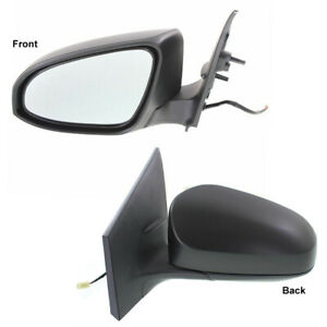 New TO1320293 Driver Side Mirror for Toyota Corolla 2014-2016
