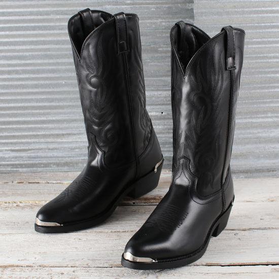 Laredo Men's Black Trucker Boots for