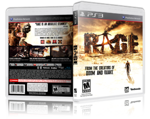 RAGE-Replacement-PS3-Cover-and-Case-NO-GAME