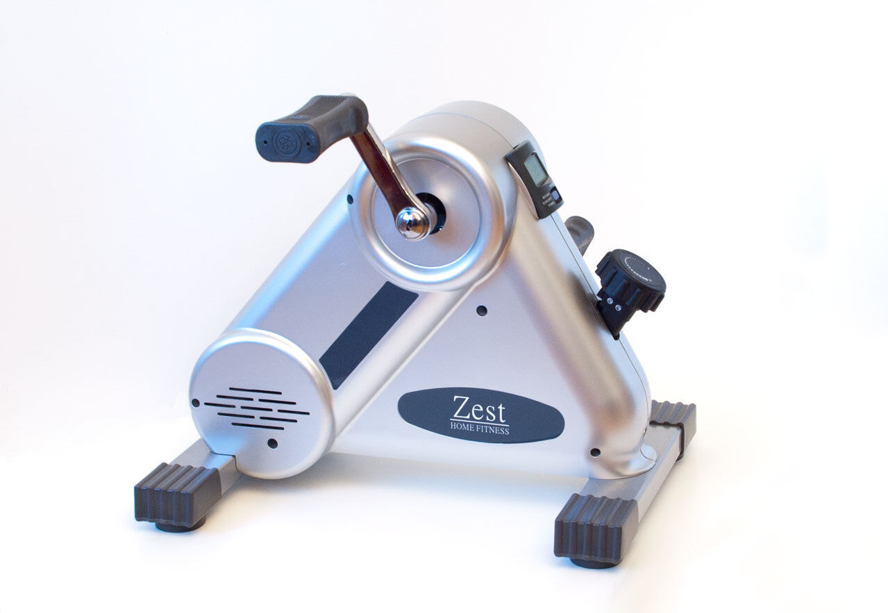 Zest PLUS Mini Exercise Bike Pedal Exerciser - For cardio and muscular fitness