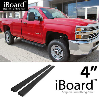 "5/"" Black Running Boards For 99-16 Chevy Silverado//GMC Sierra Regular Cab"