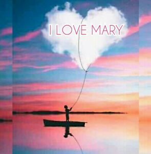 I-LOVE-YOU-MARY-GIFT-HEART-CLOUD-SEA-HD-CANVAS-picture-canvas-no-dvd-no-poster