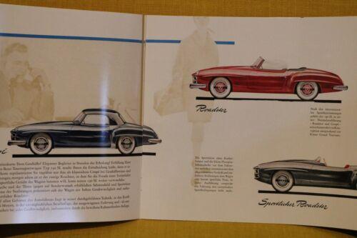 Mercedes-benz 190 sl w121 B II folleto