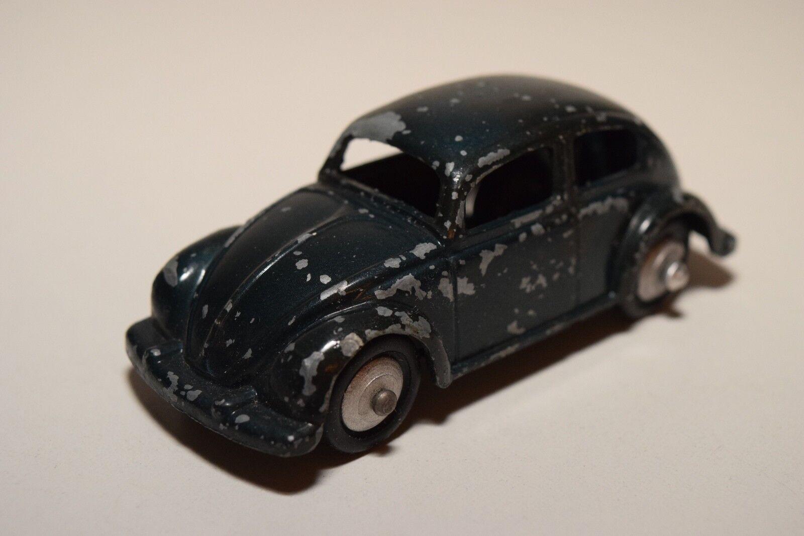 AA 1 43 SWERING VW VOLKSWAGEN BEETLE KAFER OVAL DARK blå EXEKTENT RARE SEL