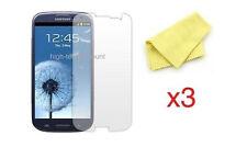 Lot 3x films de protection écran pour Samsung i9300 Galaxy s3